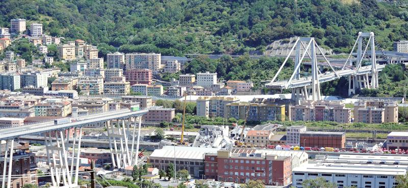 Strage di Genova: il crollo di Ponte Morandi
